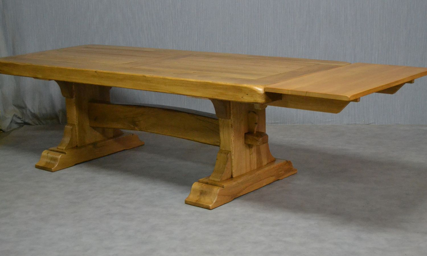 Table basse pliante avec rallonge for Table en bois